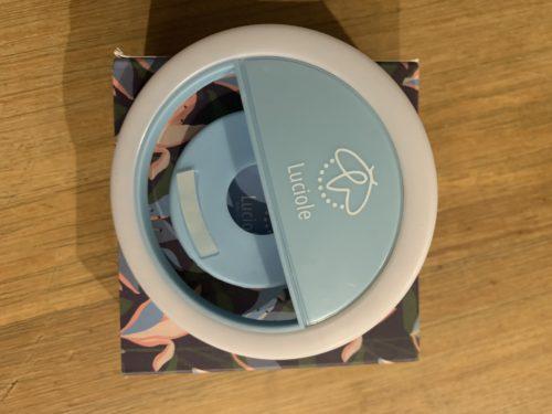 Ring Light Luciole Bleu photo review